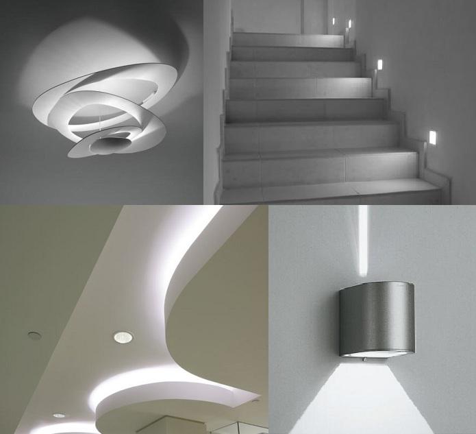 Mondo convenienza illuminazione faretti for Lampade a led per interni prezzi